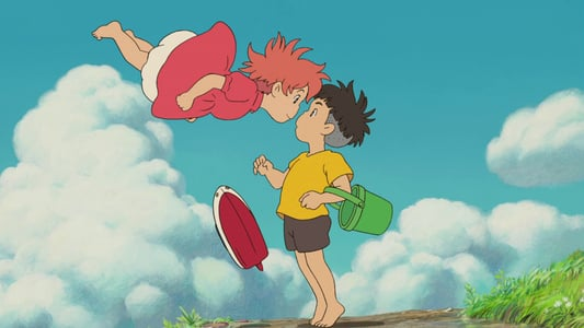 Image Ponyo sur la falaise