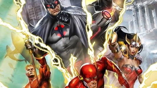 Image La Ligue des Justiciers : Le Paradoxe Flashpoint