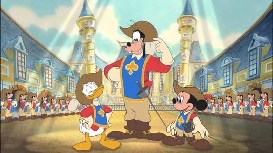 Image Mickey, Donald, Dingo- Les trois mousquetaires