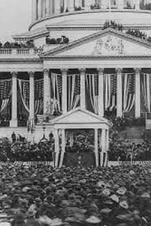 President McKinley Taking the Oath (1901)