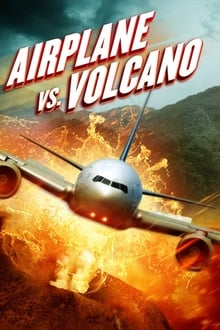 Image Airplane vs Volcano