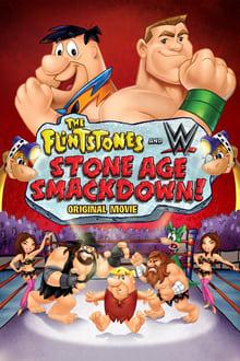 Image Les Pierrafeu Et WWE : Catch Préhistorique !