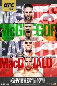 Image UFC 189: Mendes vs. McGregor
