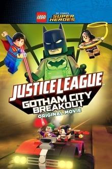 Image Lego Dc  Comics Super Héros - la ligue des justiciers  S'évader de Gotham City (2016)