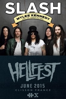Image Slash feat. Myles Kennedy and The Conspirators: Live @ Hellfest 2015